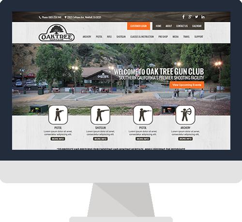 Santa Clarita Website Design Before Screen Shot