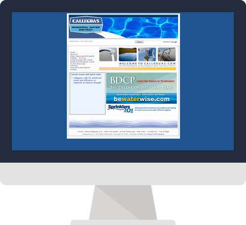 Simi Valley Before Custom Website Design