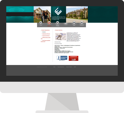 Before Northridge Custom Website Design