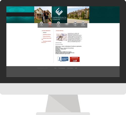 Before Northridge Custom Website Design